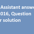 ISRO-Assistant-answer-key-2016-Question-paper-solution
