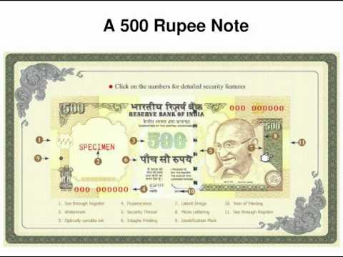 Fake 500 rs Note