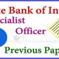 SBI SO Assistant Manager Question paper