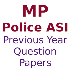 MP Police ASI Previous Year Question Papers PDF